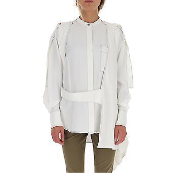 Proenza Schouler R1944003by13900101 Women's White Viscose Blouse