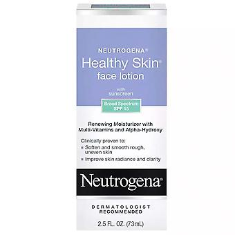Neutrogena lotion visage de peau saine, spf 15, 2.5 oz