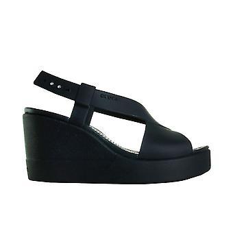 Crocs Brooklyn High Wedge 206222060 universal Sommer Damen Schuhe
