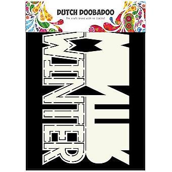 Dutch Doobadoo Dutch Card Art Text Winter 470.713.642 A5