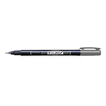 Tombow Brush pen Fudenosuke hardgrijs 19-WS-BH49