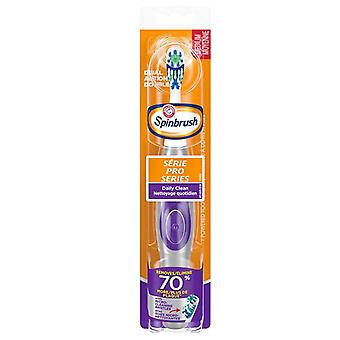 Arm & hammer spinbrush pro series toothbrush, medium, 1 ea