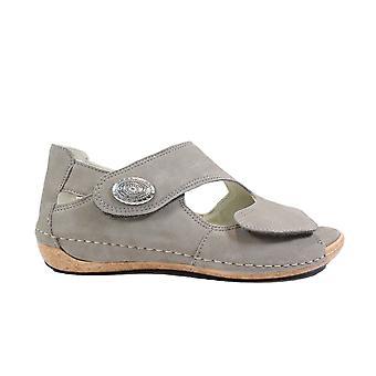 Waldläufer Heliett 342021 191 060 Beige Nubuck Leather Womens Wide Fit Sandals
