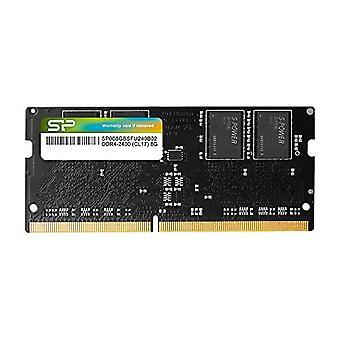 Silicon Power 8GB-DDR4-RAM-2400MHz (PC4 19200) 260 Pin SO-DIMM 1.2V Low Tension Laptop Memory Module