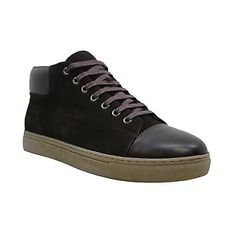 English Laundry Mens Landseer Leather Low Top Lace Up Fashion Sneakers