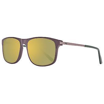 Men's Sunglasses Helly Hansen HH5016-C02-56 Brown (ø 56 mm)