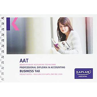 BUSINESS TAX (FA18) - POCKET NOTES by KAPLAN PUBLISHING - 97817874031