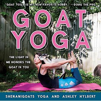 Goat Yoga  The Light in Me Honors the Goat in You by Yoga Shenanigoats & By photographer Ashley Hylbert