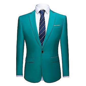 Allthemen mäns Blazer business casual Party middag slim fit kostym jacka