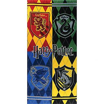 Harry Potter Houses 28x58 Beach Towel