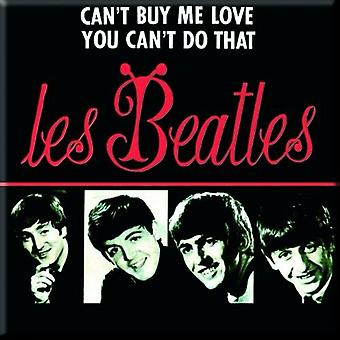 The Beatles Fridge Magnet Cant Buy Me Love new Official 76mm x 76mm