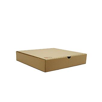 Vegware Compostable Brown Kraft Pizza Boxes 9inch