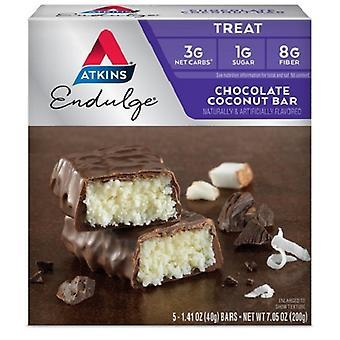 Atkins Endulge barre de noix de coco chocolat