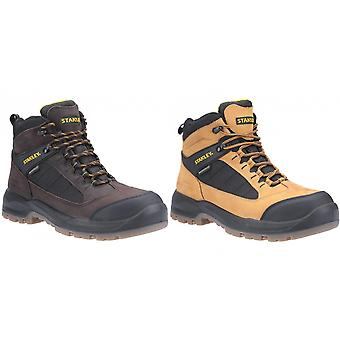 Stanley Mens Berkeley Full Lace Up Leather Safety Boot