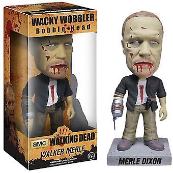 Kävelevä kuollut merle zombie wacky wobbler