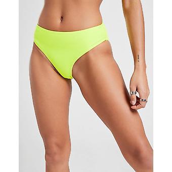 New Supply & Demand Women's Gossip High Waist Bikini Bottoms from JD Outlet Green