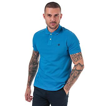 Men's Timberland Millers River Polo Shirt in blau
