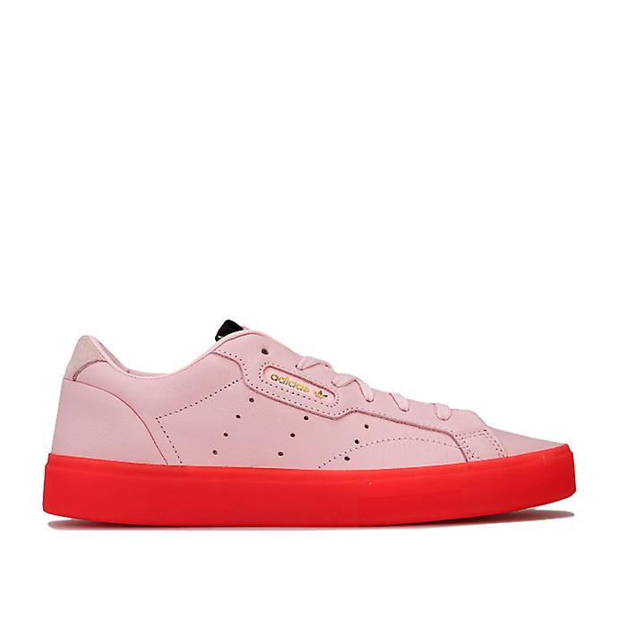 Women's adidas Originals Sleek Trainers in Pink lPIz9