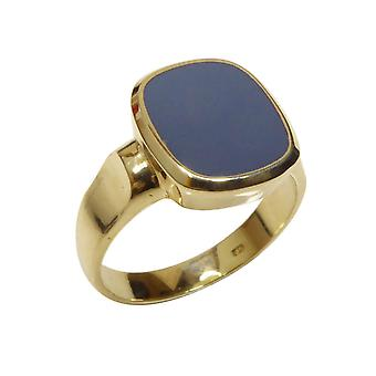 Christian layer stone cachet ring