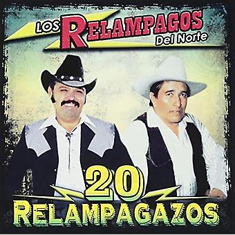 Relampagos Del Norte - 20 Relampagazos [CD] USA import