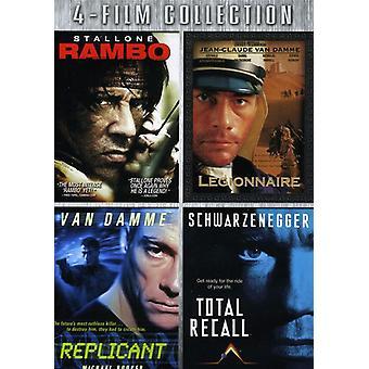 Rambo/legioonalaistaudin Replicant yhteensä muistuttaa [DVD] USA tuonti