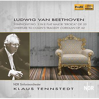 Beethoven / Tennstedt - Beethoven: Symphony 3 Eroica [CD] USA import
