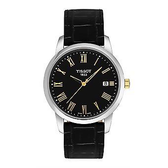 Tissot T033.410.26.053.00 T-Classic Black Dial Men's Horloge