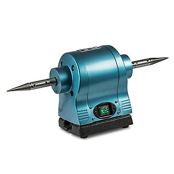 """Milbro Double Ended Polisher 1hp, Complete With 2 Spindles 5/8"""" Diameter"""
