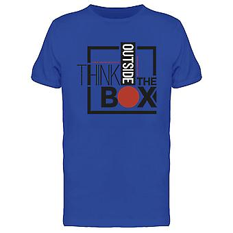Think Outside The Box Design Tee Men-apos;s -Image par Shutterstock