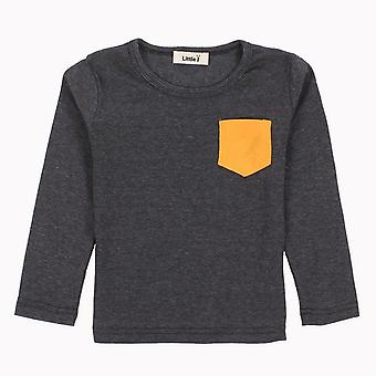 Long Sleeve Candy O-Neck Tee -Design 3 -Infant