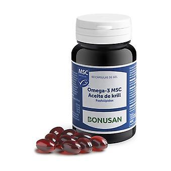 Omega-3 MSC Krill Olie 60 capsules