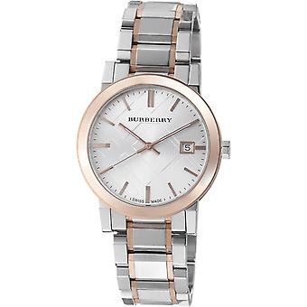 Burberry BU9006 Silver Dial Two-Tone Stainless Steel Unisex Watch
