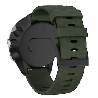 Suunto 9/9 Baro/Baro Rame/Spartan Braccialetto Militare Verde