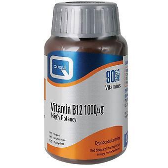 Quest Vitamins Vitamin B12 1000mcg Tabs 90 (601227)