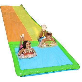 Inflatable Water Slide, Kids Backyard Waterpark for Summer Fun, Outdoor Backyard Waterslide Multiple Styles Available