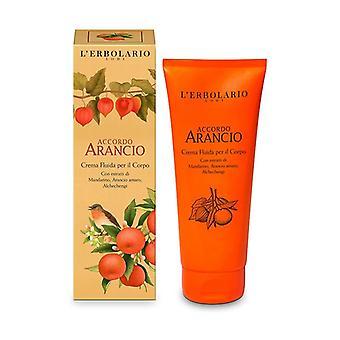 Accordo Orange Body Cream 200 ml