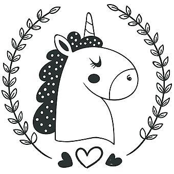 Aladine Rubber Stamp Baby Unicorn