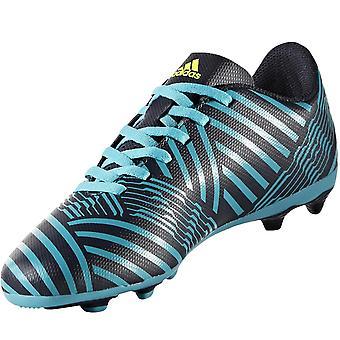 adidas Performance Boys Nemeziz 17.4 Firm Ground Training Football Boots - Blue