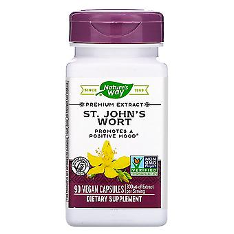 Nature's Way, St. John's Wort, 300 mg, 90 Vegan Capsule