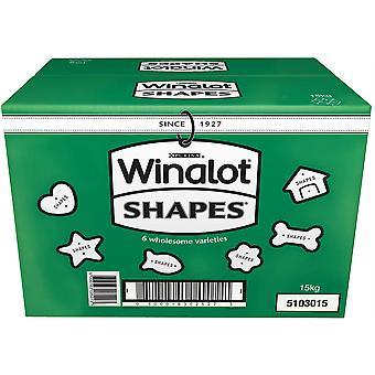 Winalot Shapes 6 Variëteiten - 15kg