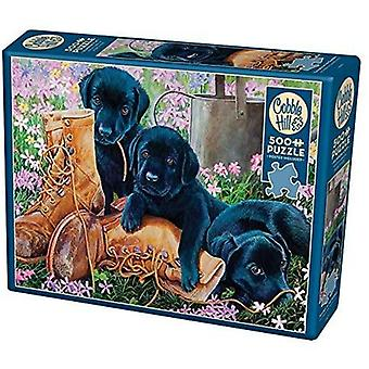 Cobble hill - trouble in the garden - 500 pc puzzle