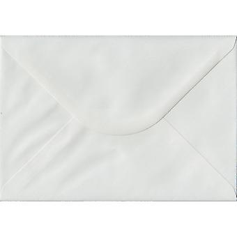 Bianco di cui gommate C5/A5 colorate buste bianche. 100gsm carta sostenibile FSC. 162 x 229 mm. busta di stile del banchiere.