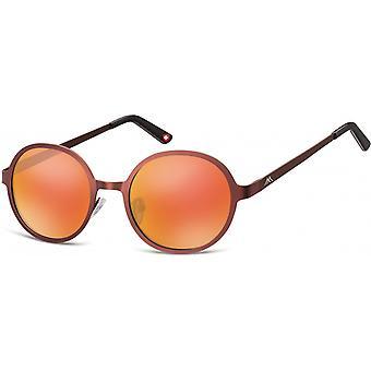النظارات الشمسية Unisex Cat.3 بوردو / البرتقال (MS87D)