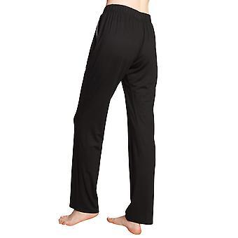 Rösch vara glad! 1202131-10995 Kvinnor's Svart Pyjama Byxa