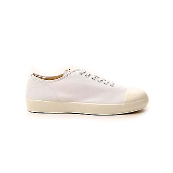 Marni Snzu004702p295700w01 Heren's White Fabric Sneakers