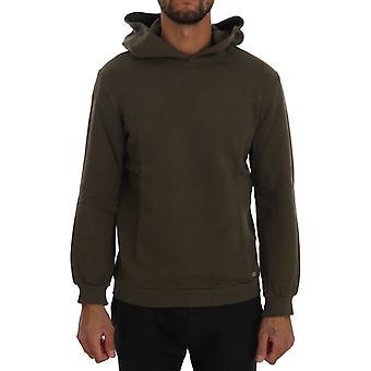 Grüner Pullover Hodded Baumwolle Pullover TSH1342-5