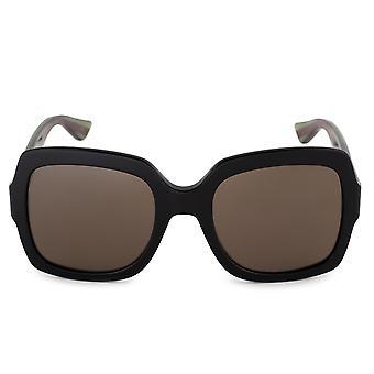 Gucci Oversized Sunglasses GG0036S 002 54