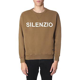 Aspesi Ay20940985141 Men's Brown Cotton Sweatshirt