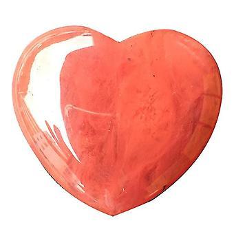 Gemstones Cristal de quartzo rosa natural - Cristal de pedra em forma de coração