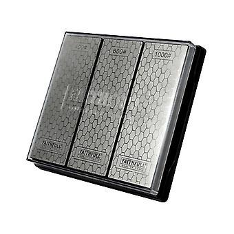 Faithfull Diamant Whetstone Kit, 3 Stück
